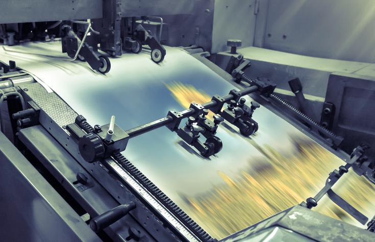 Tipos de barniz en impresión offset