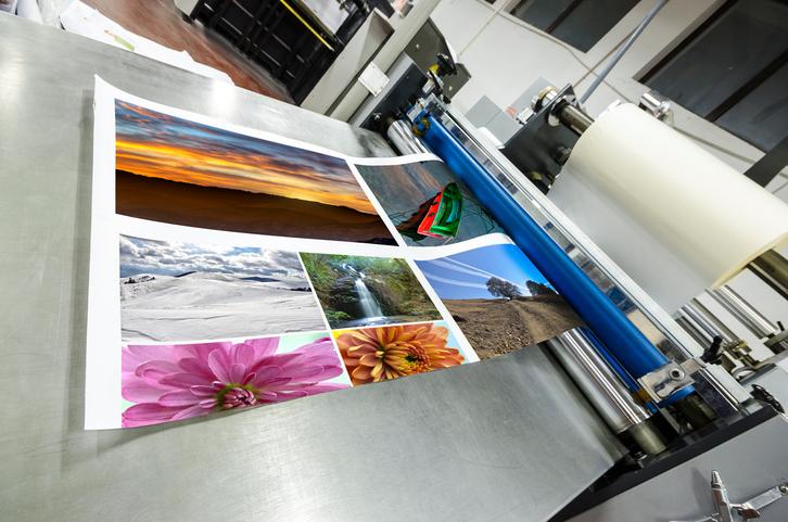 barniz en impresión offset