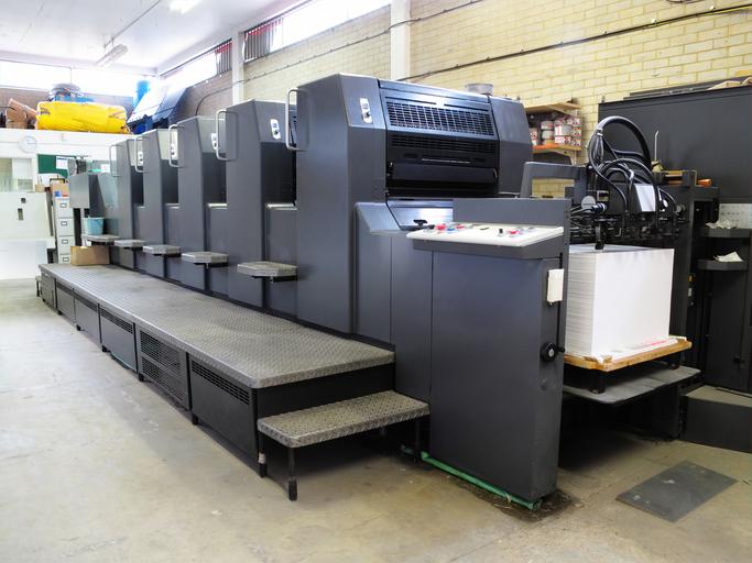 Servicios de impresión en papel