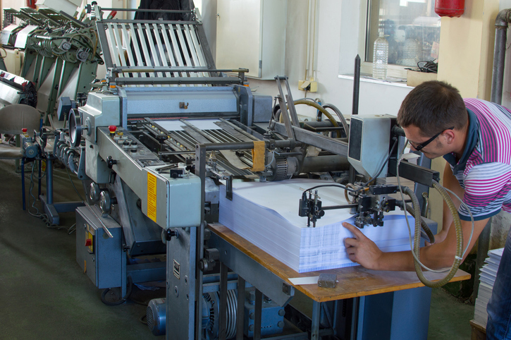 printing in factory