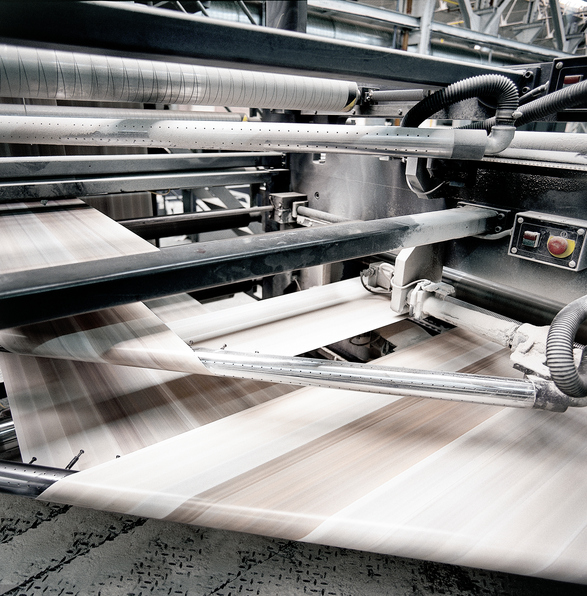 Uso de granulados para imprimir en offset