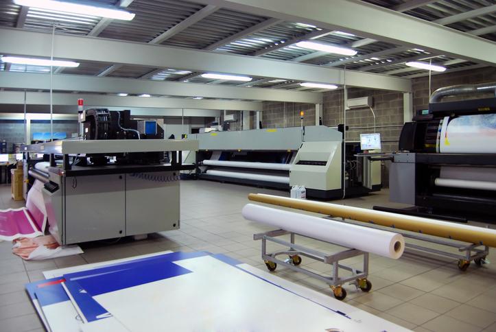 Los soportes para la impresión digital en gran formato
