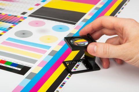 Pruebas de color en impresión offset