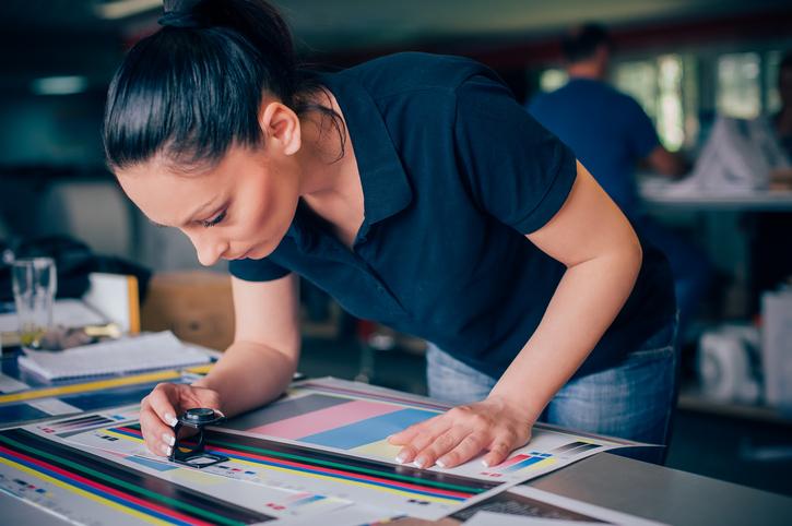 Las pruebas de color en la impresión Offset