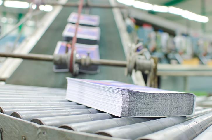El papel para impresión