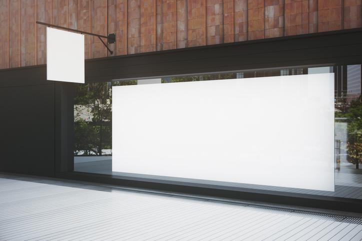 Impresión de carteles en gran formato para escaparates